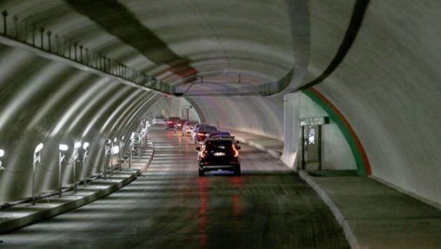 """Avrasya Tüneline ABDden """"Dünyanın en iyi tünel projesi"""" ödülü"""