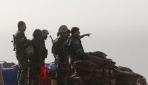 Zerdek dağında askeri hareketlilik