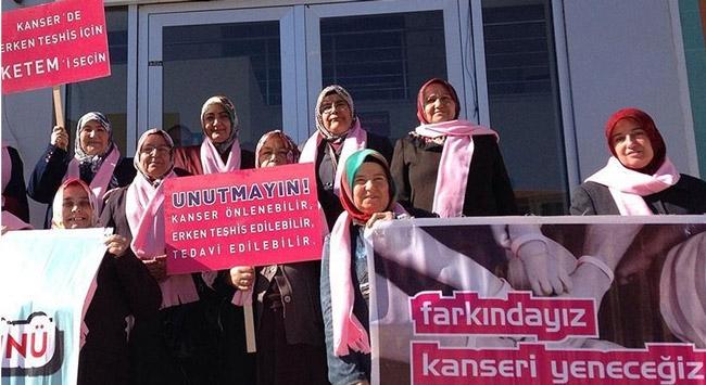 Türkiyede her 8 kadından biri meme kanseri