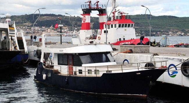 ABD bayraklı yatın kaptanı gözaltına alındı