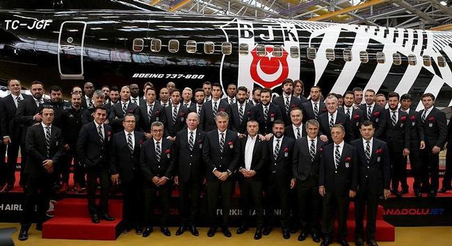 Beşiktaşa özel uçak