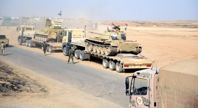 Irak ordusu Musulun güneydoğusundaki Hemdaniyeye girdi
