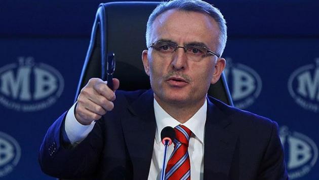 """Bakan Ağbaldan """"2017 yılı bütçe gelirleri"""" açıklaması"""