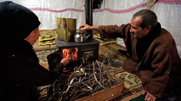 Çadır kamplardaki Suriyelilerin kış endişesi