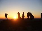 Nemrut Dağında Güneşin doğuşu