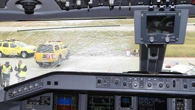 Fenerbahçe kafilesi havada tehlike atlattı