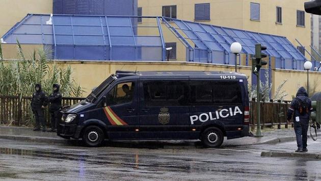Madridde 13 Polonyalı taraftar gözaltına alındı
