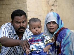 """Sudanlı küçük """"Erdoğan"""" çifte sevinç yaşattı"""