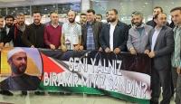 İsrailin serbest bıraktığı Türk vatandaşı yurda döndü