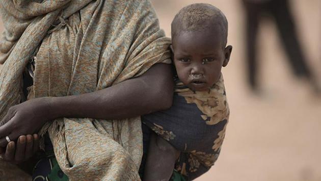 Bu ülkede 1 milyondan fazla kişi açlıkla karşı karşıya