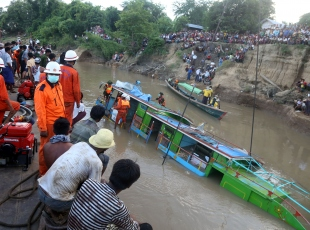 Myanmarda feribot kazası