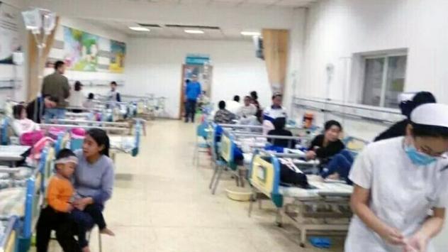 Çinde gıda zehirlenmesi