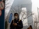 Çinde hava kirliliği nedeniyle binlerce yolcu mahsur kaldı