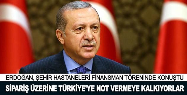 Sipariş üzerine Türkiyeye not vermeye kalkıyorlar