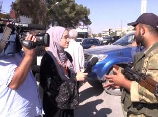 Yabancı gazetecilerin gözünden Cerablus