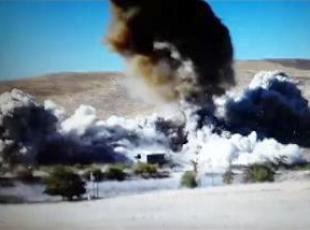3 ton patlayıcı imha edildi