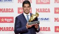 """Luis Suarez """"Altın Ayakkabı""""sına kavuştu"""