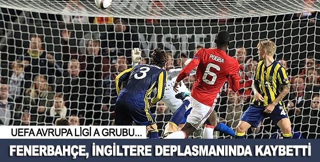 Fenerbahçe deplasmanda kaybetti