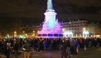Fransız polisinden Pariste izinsiz gösteri