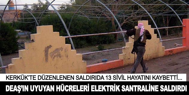 DEAŞın uyuyan hücreleri elektrik santraline saldırdı: 13 ölü