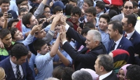 Başbakan Yıldırım, öğrencilerle bir araya geldi