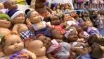 Ukraynada oyuncak bebek fuarı düzenlendi