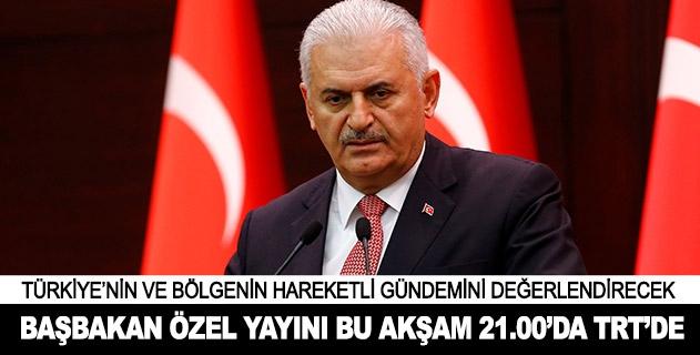 Başbakan Özel Yayını bu akşam TRTde