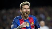 Barcelona Messi ile güldü