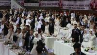 Gaziantepte 300 çiftin nikahı kıyıldı