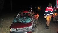Bursa Orhangazide trafik kazası: 2 ölü, 4 yaralı