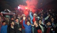 Trabzonspora coşkulu karşılama