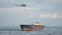Sürüklenen gemideki mürettebat kurtarıldı