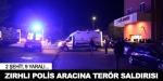 Bingölde zırhlı polis aracına bomba yüklü araçla saldırı