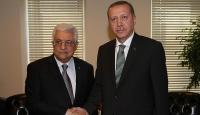 Erdoğan, Filistin Devlet Başkanı Abbas ile görüşecek