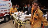 Bursada trafik kazaları: 11 yaralı, 1 ölü