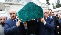 Cumhurbaşkanı Erdoğan, İslam alimi Baytanın cenazesine katıldı