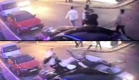 Düğünde kavga ettiği kişilere otomobiliyle çarptı