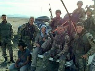 """""""Dağ 2"""" filmi için askeri eğitim aldılar"""
