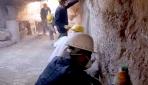Zerzevan Kalesinde bin 500 yıllık yeraltı sığınağı bulundu