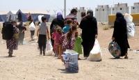 Musul çevresindeki bölgelerden 3 bin 802 kişi göç etti