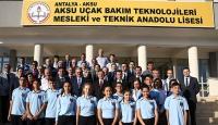 Bakan Yılmazdan Türkiyenin ilk tematik meslek lisesine ziyaret