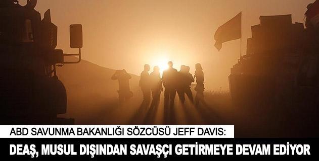 DEAŞ, Musul dışından savaşçı getirmeye devam ediyor