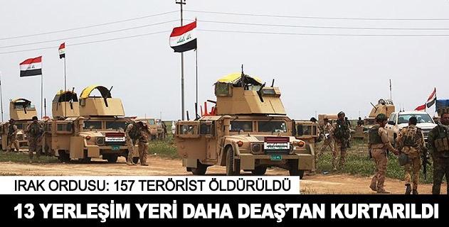 13 yerleşim yeri daha DEAŞtan kurtarıldı
