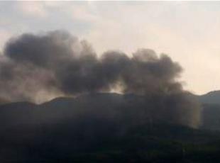PKKlı teröristler iş makinelerini yaktı