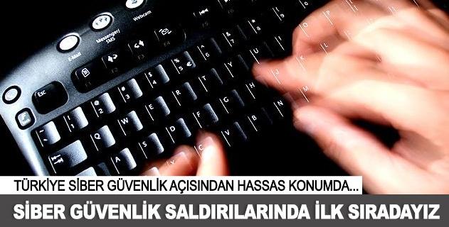 Türkiye siber güvenlik saldırılarında ilk sırada