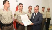 Hainlerin yakalanmasında görev yapan personele ödül