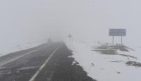 Doğuda kar yağışı başladı