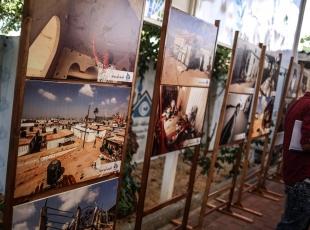 """Gazzelilerin """"acılarını anlatan"""" fotoğraf sergisi"""
