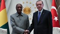 Cumhurbaşkanı Erdoğan, Conde ile görüştü