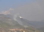 Teröristler orman yangını çıkardı